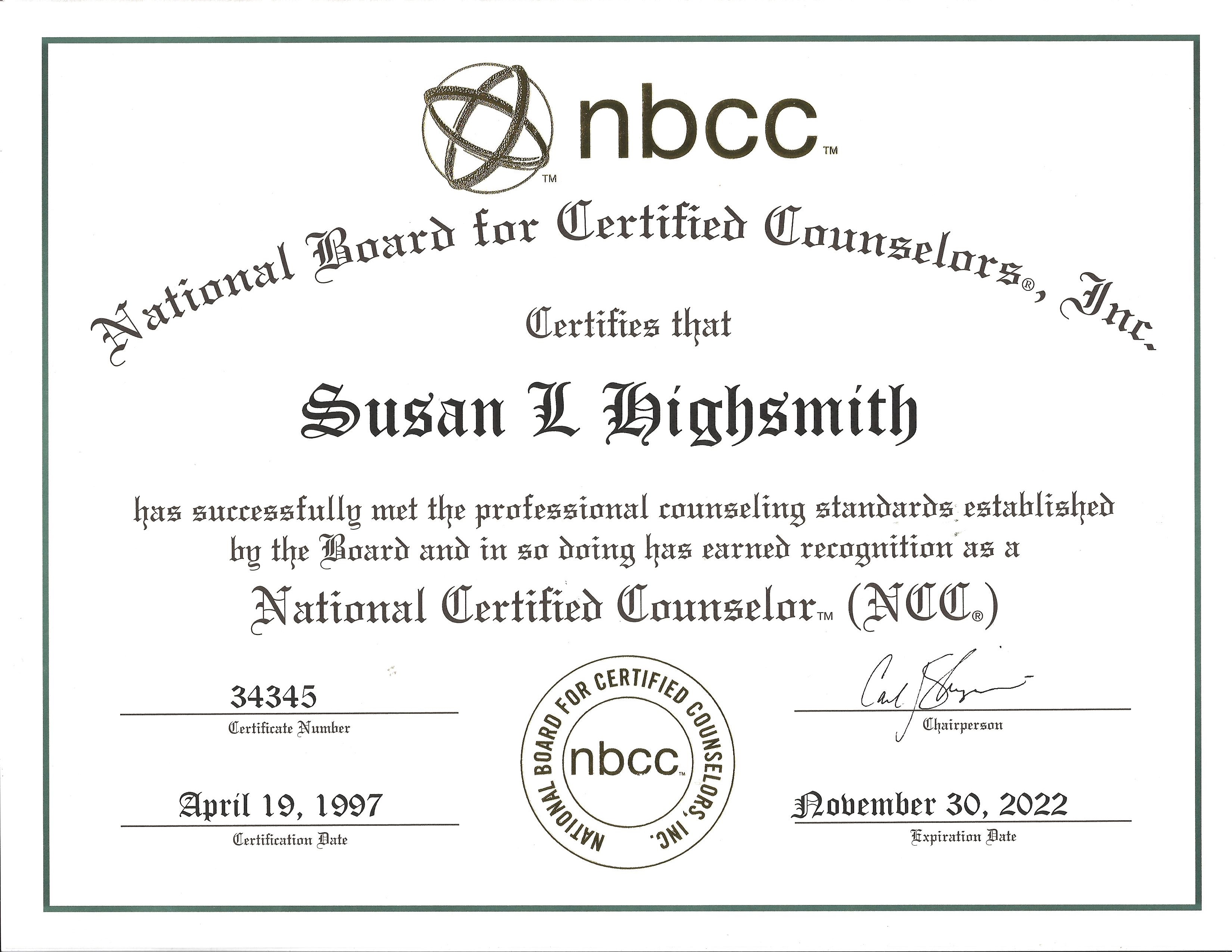 About Susan – Susan Highsmith
